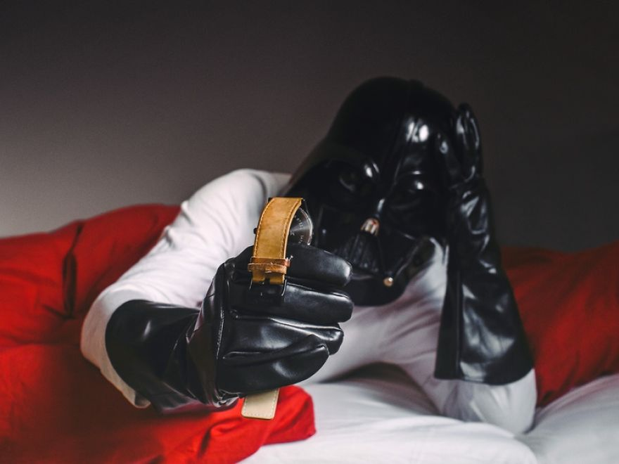 The Daily Life Of Darth Vader Is My Latest 365 Day Photo