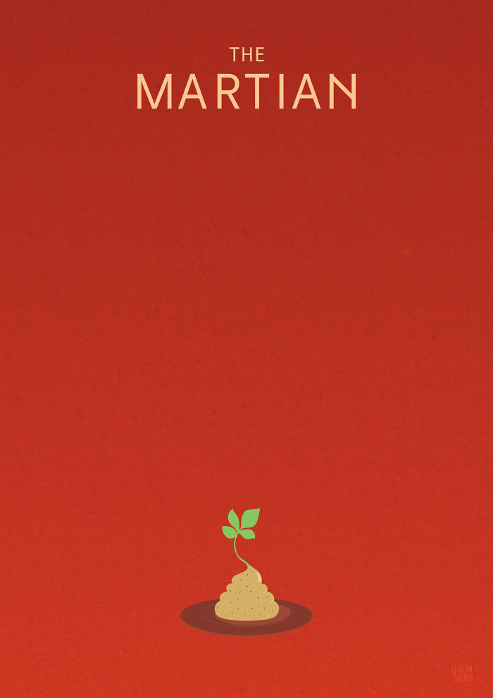 The Martian – Minimal Poster