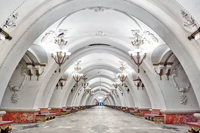 The Most Beautiful Metro Stations In The World Are In Moscow