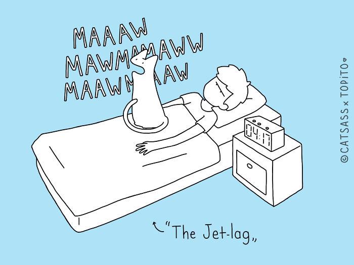 The Jet-lag