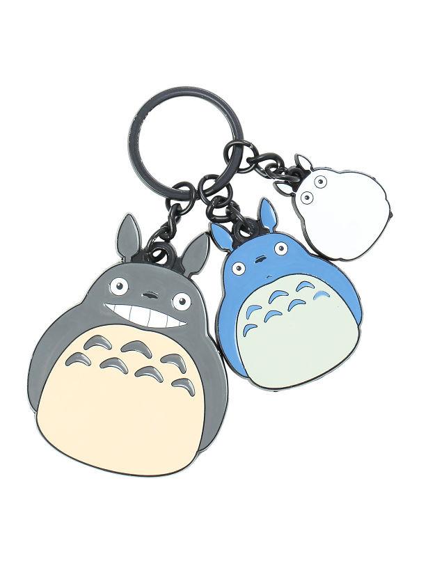 My Neighbor Totoro Three Character Keychain