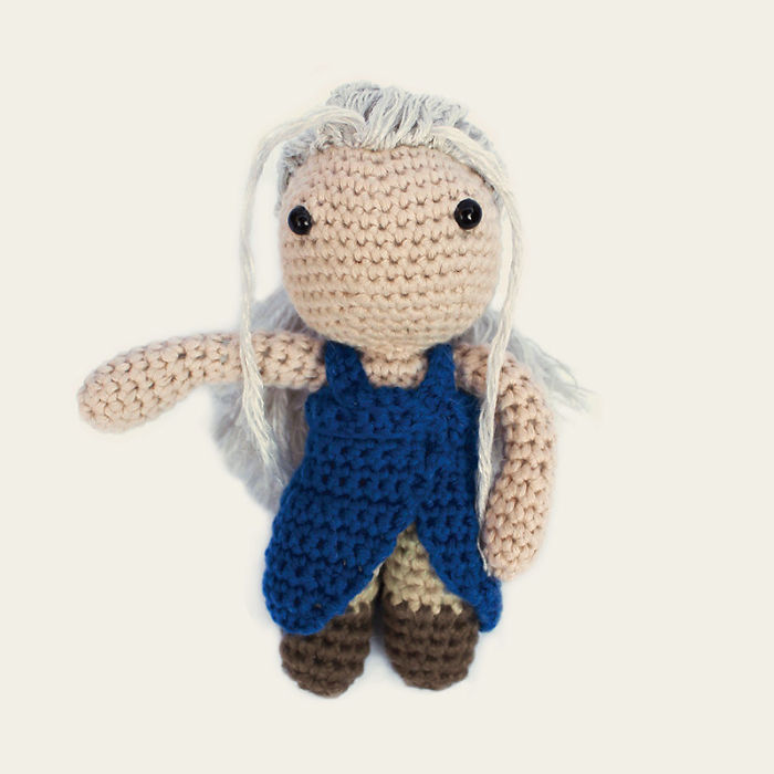 We Crochet Game Of Thrones Characters For Amigurumi Lovers