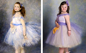Children With Down Syndrome Recreate Famous Paintings To Prove That Everyone Is A Work Of Art