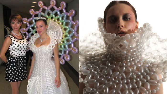 10 Of The Most Bizarre Wedding Dresses Ever