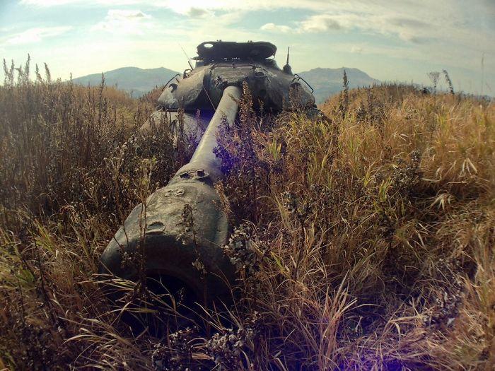 Abandoned Is3 On Shikotan Island