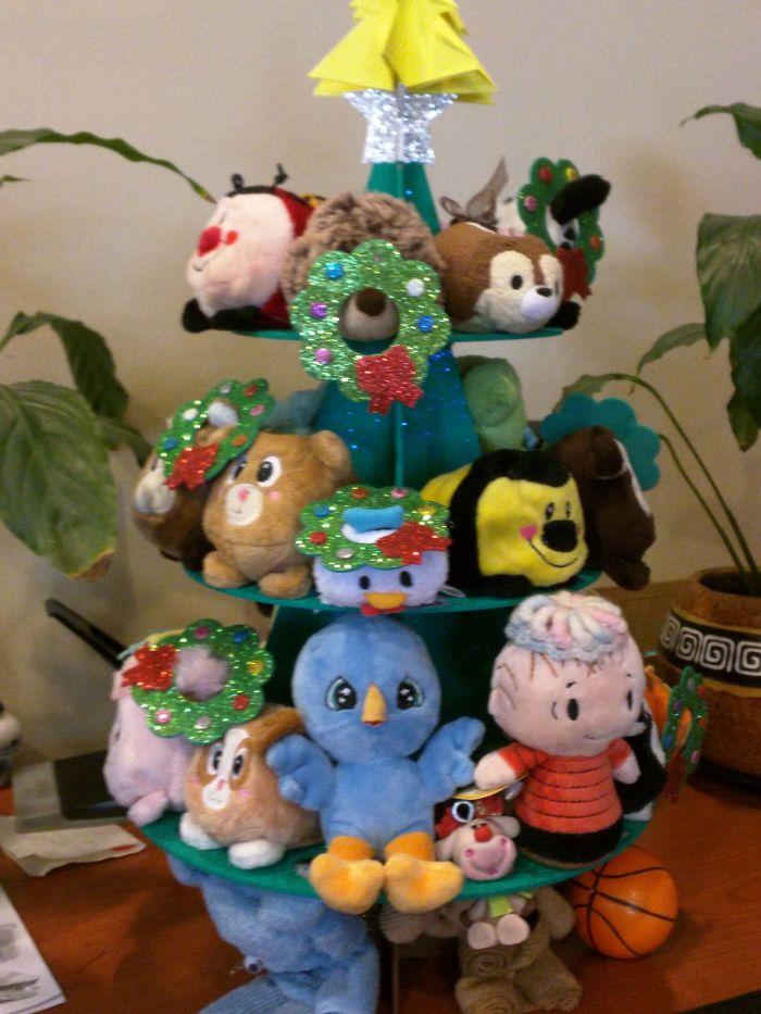 Stuffed Toys Tree