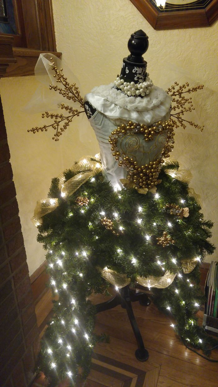 Steampunk Angel Tree