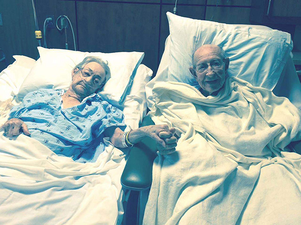 Hospital Makes Exception And Allows Couple Married 68 Years To Be Together In Same Room