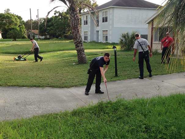 Man Has Heart Attack While Mowing Lawn; Firefighters Finish Mowing Lawn After Saving Him