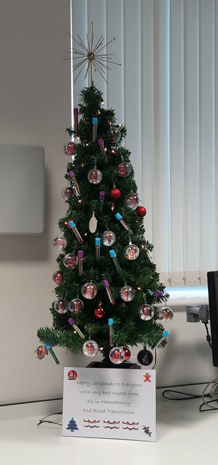 Haematology Christmas Tree