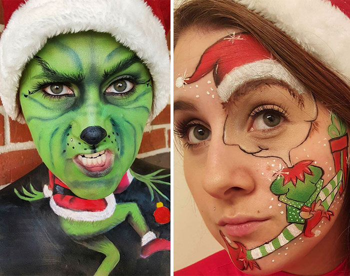 25 Days Of Christmas-Themed Makeup