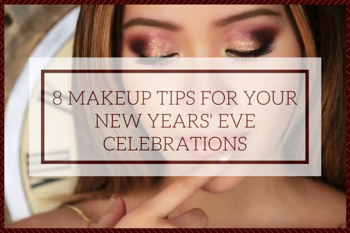 8 Makeup Tips For Your New Years' Eve Celebrations