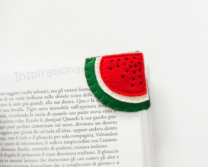 Watermelon Bookmark