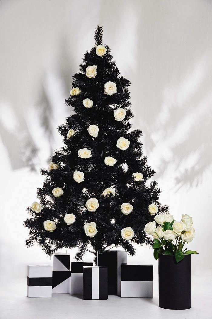 #black Tree, White Roses / By Gentian Minga (living Albania) / Photo Credits: Armand Habazaj