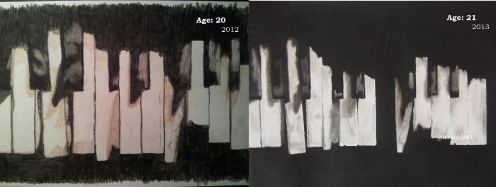 """Practice Makes Perfect: Age 20 To Age 21 (2012-2013) """"the Old Piano"""""""