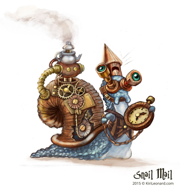 Steam Snail