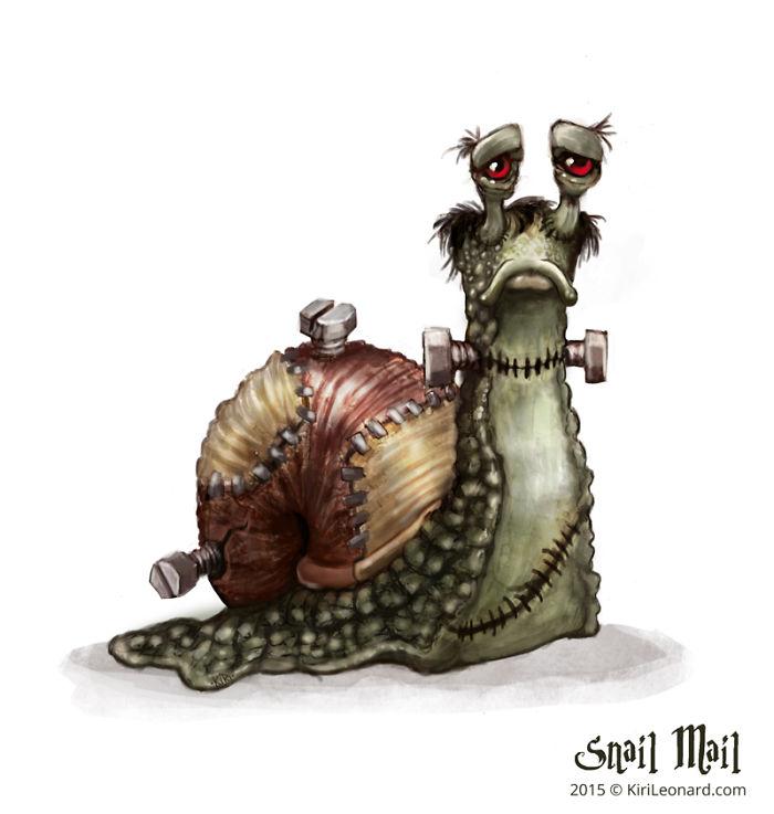 Franken Snail