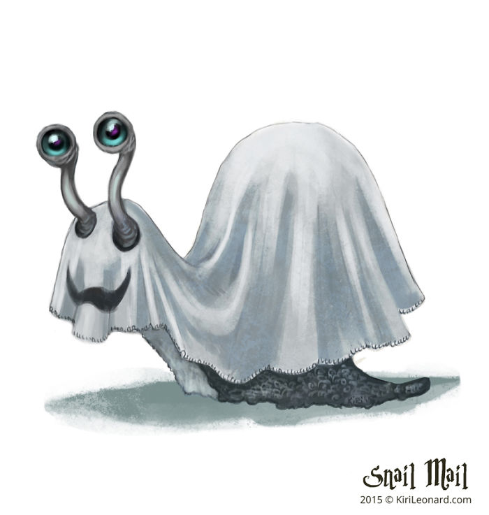 Ghost Of A Snail