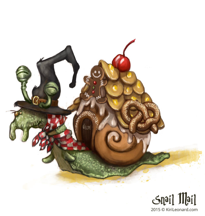 The Wicked Snail Witch