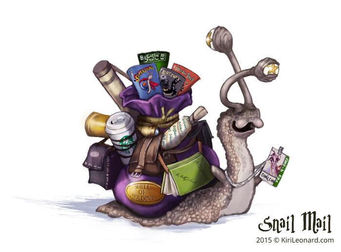 Comic Con Snail