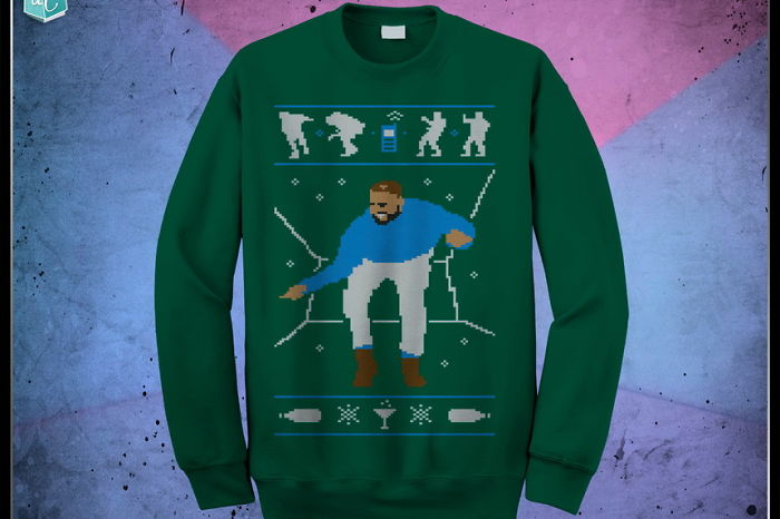 Hotline Bling Ugly Christmas Sweater Lets You Break It Down Like Drizzy