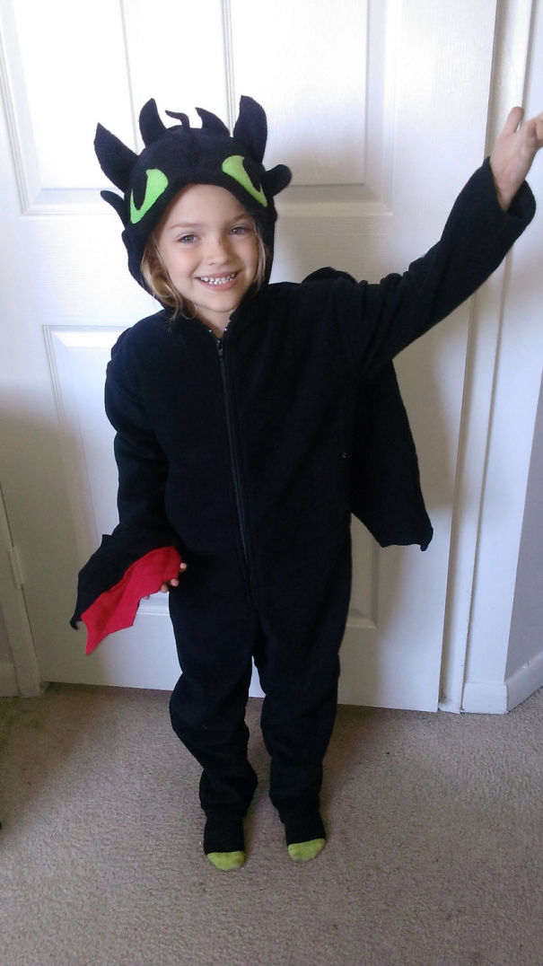 Toothless Dragon Onesie