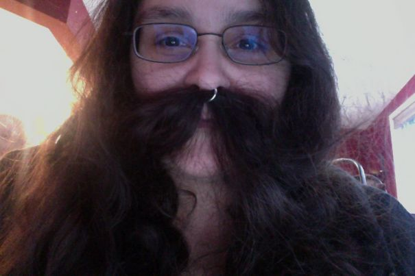 Septum Ring Mustache