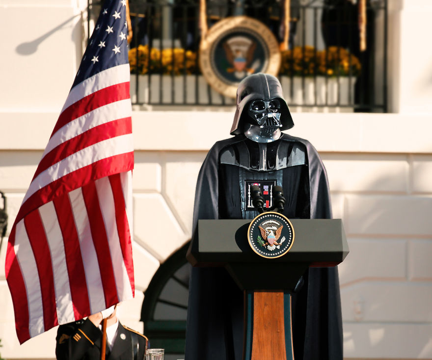 Darth Vader And His Speech