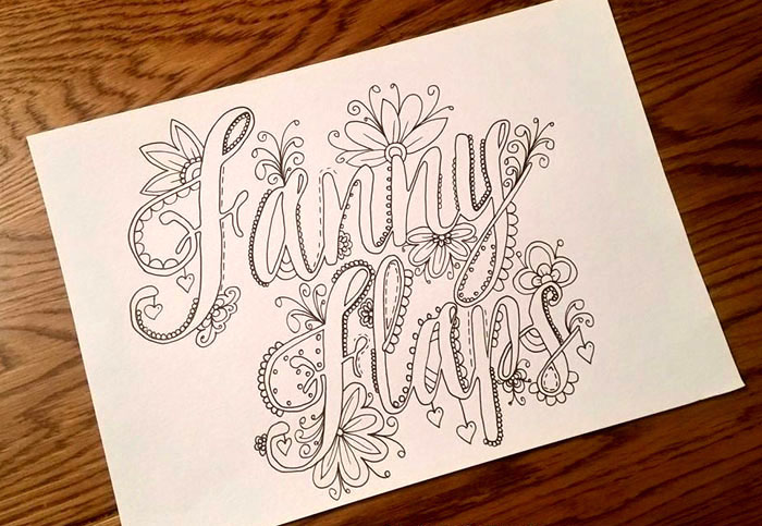 You Can Buy This Sweary Colouring Book On Etsy