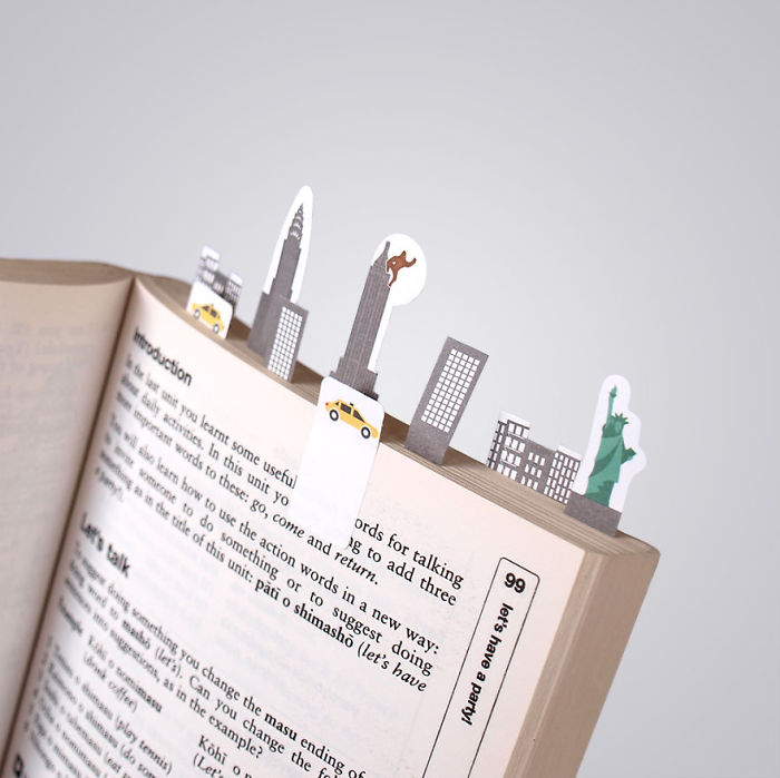 Sticky Page Markers By Duncan Shotton Design Studio (new York Version)