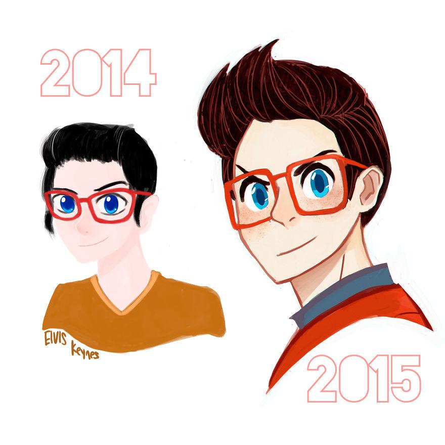 My Improvement (december 2014- June 2015)