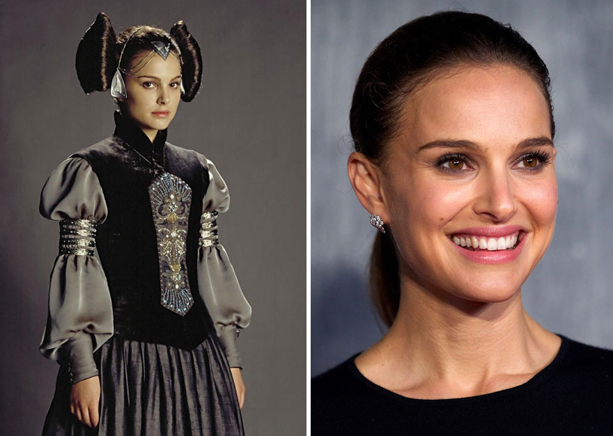 Natalie Portman As Padmé Amidala, 2003 And 2015