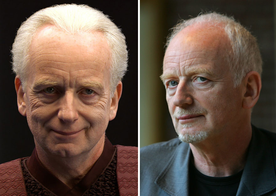 Ian McDiarmid As Palpatine, 2005 And 2015