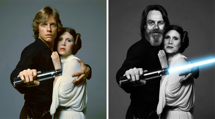 Star Wars Actors Then And Now