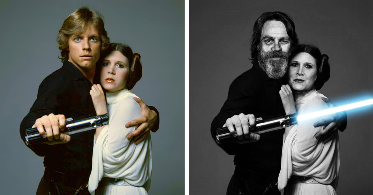 Star Wars Actors Then And Now Bored Panda