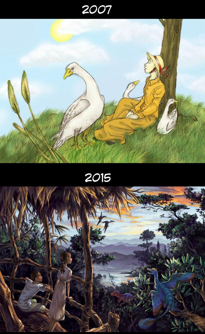 8 Years Of Photoshop Practice