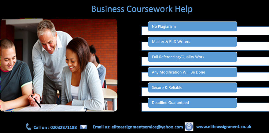 Need help with business coursework?
