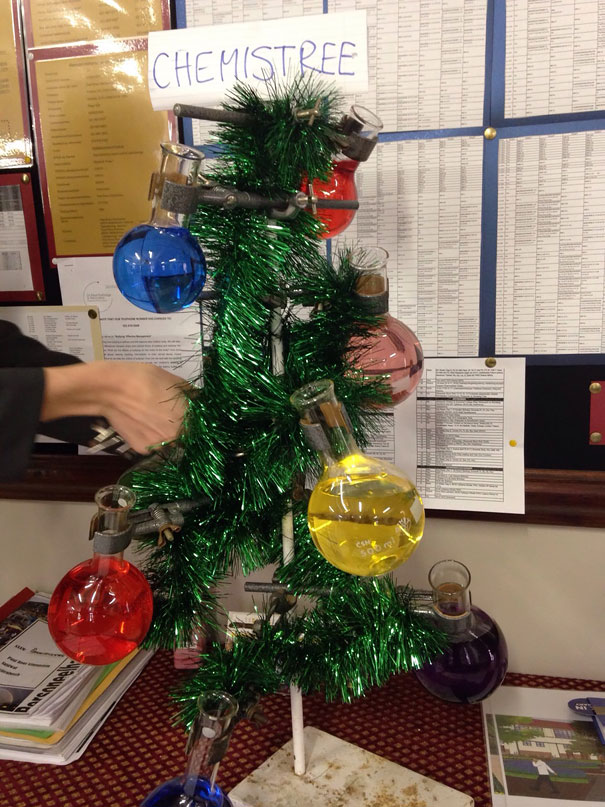 a friend of mine is a teacher decided to get into the christmas spirit early - How To Get Into The Christmas Spirit