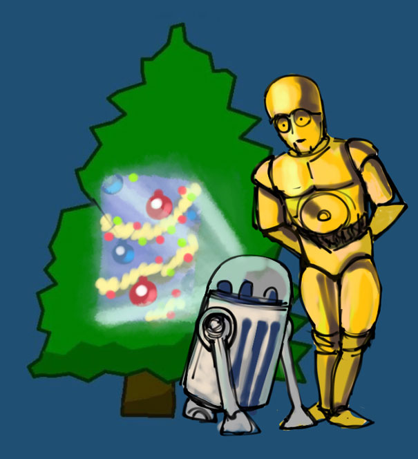 Merry Star Wars