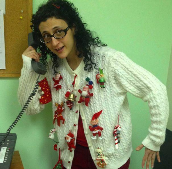 Tchotchke Christmas Sweater