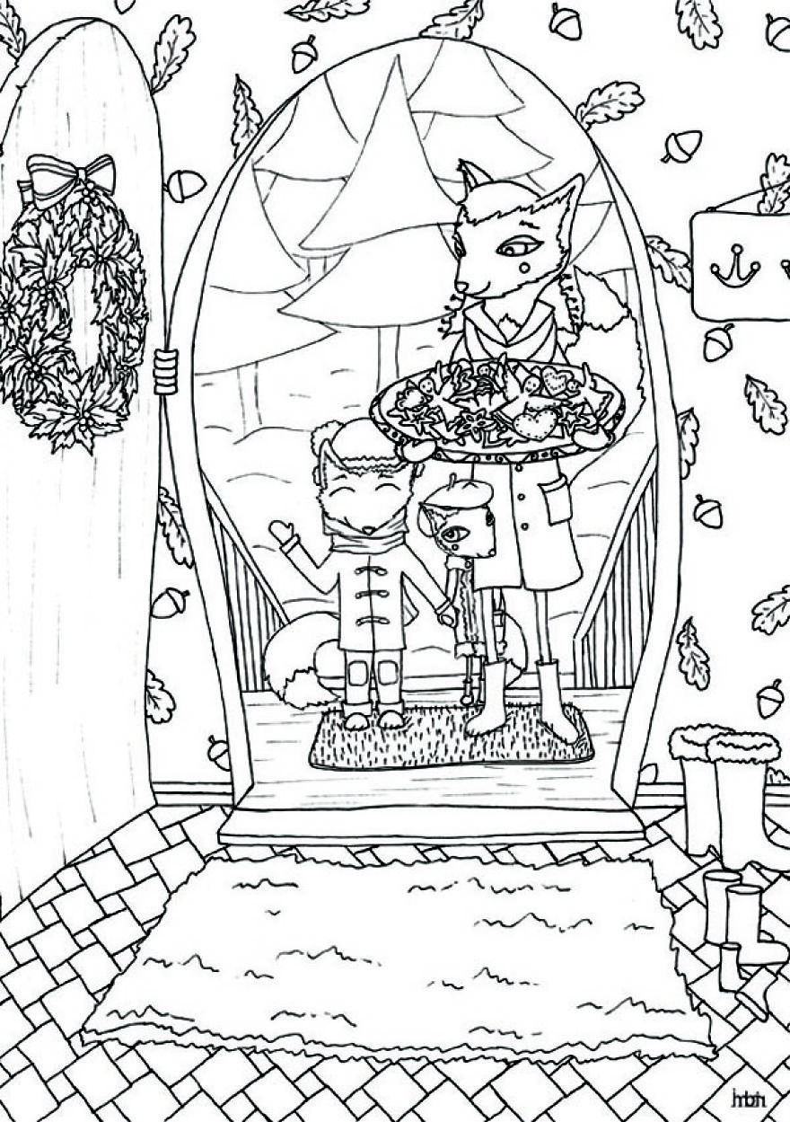 Grown up colouring book bored panda - Coloring Pages For When Your Bored Coloring Pages Bored Panda