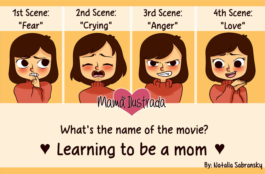 Being A Mom Is...