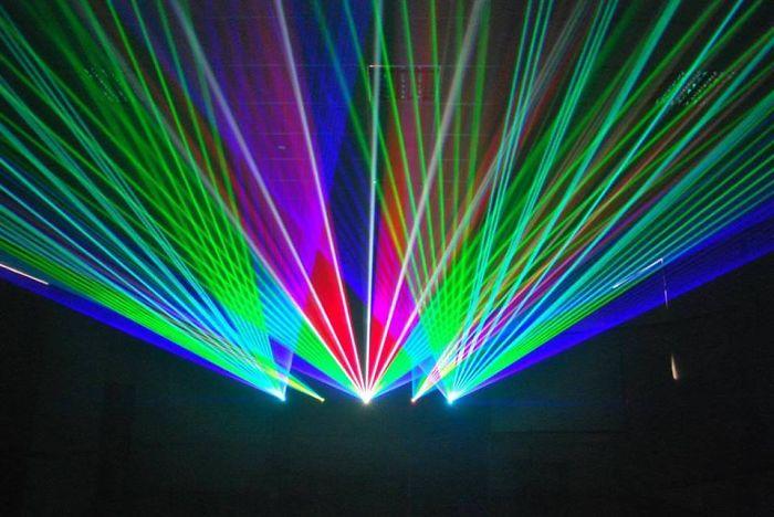 Concert Tour Extreme Laser Light Shows Worldwide