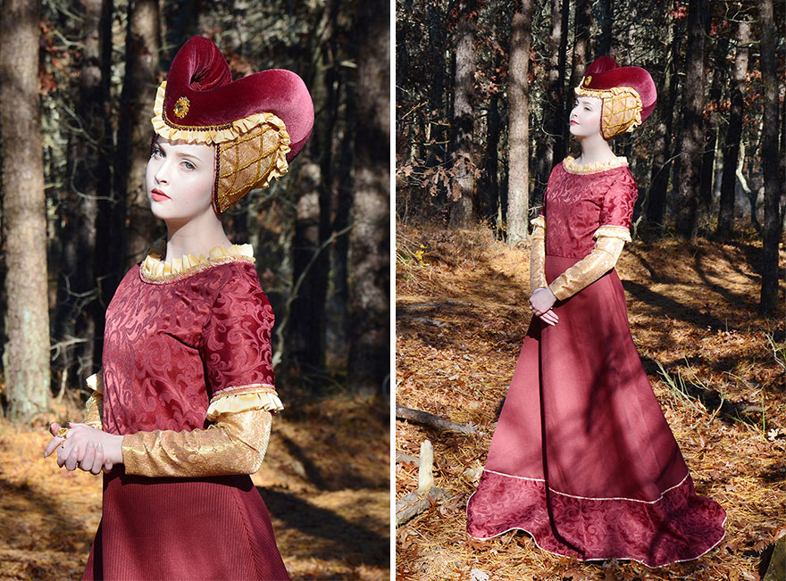 Talented 18 Year Old Girl Sews Stunning Dresses That Look Straight