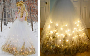 Talented 18-Year-Old Girl Sews Stunning  Dresses That Look Straight Out Of A Disney Movie