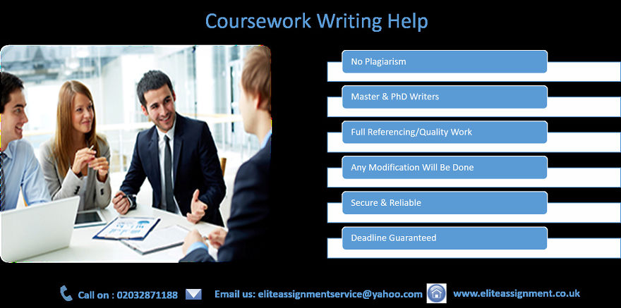 Coursework-Writing.co.uk's Full Range of Custom Writing Service