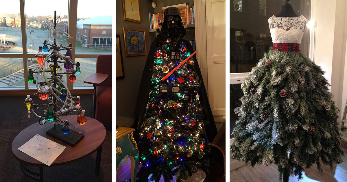Post Your Creative Christmas Trees Here!