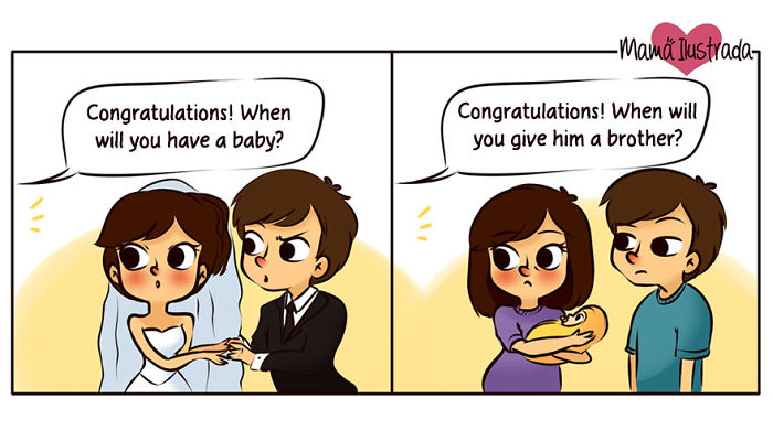 Cute Comics About Being A Mom Drawn By Argentinian Illustrator