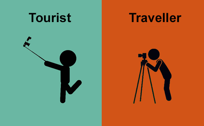 14 Differences Between Tourists And Travellers