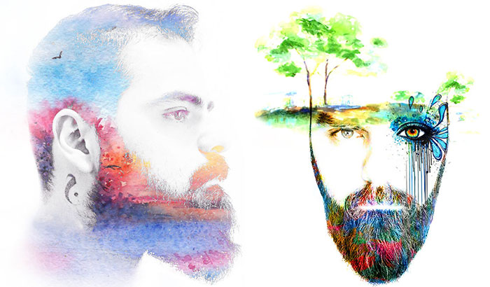 I Turn People's Photos Into Watercolor Portraits